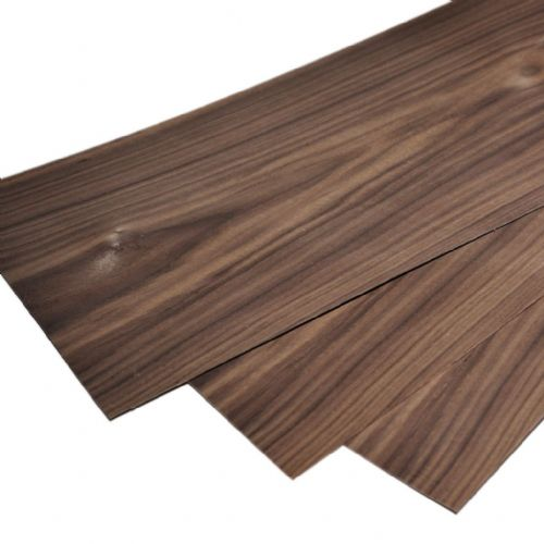"Walnut plywood 1.5mm. 22"" x 7.5"" ( 56 x 20 cm )"